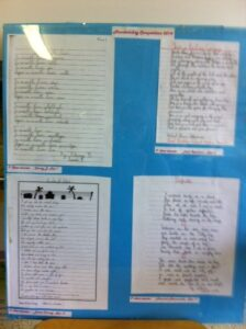 Photo of Handwriting Competition April 2014